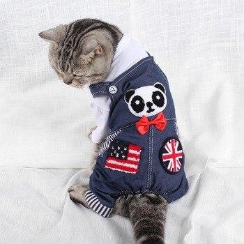 d24406854159 Traumdeutung gatos pequeños ropa overoles productos ropa para mascotas ropa  para perros traje gato accesorios kedi giysileri gatto