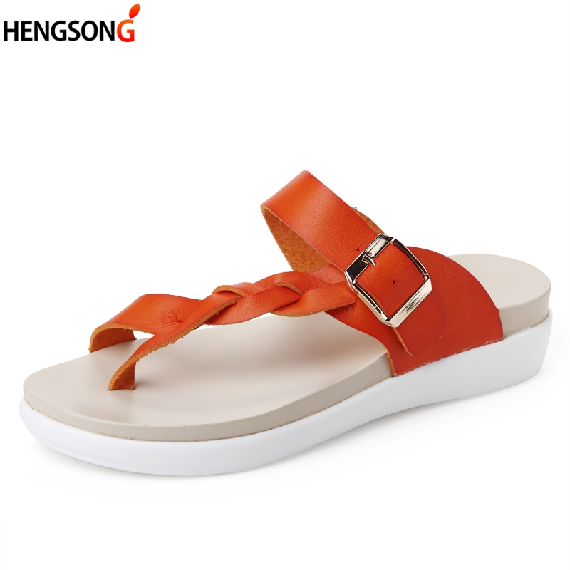 Fashion Women's Slip Slops Sides Woman Slippers Bohemian Summer Sandals Clip Toe Beach Slides Female Flat Sandals Shoes Size 43 zapatos mujer black red summer sweet bowtie flat sandals slip toe beach sandals butterfly knot flat sandals shoes plus size 44