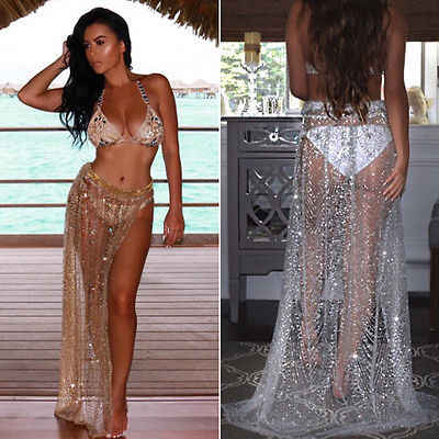 10e8f1b2cb15e Detail Feedback Questions about Hot Sexy Swimsuit Cover Up Beach Dress  Summer Autumn Dress Swimwear Women Beach Towel Plus Size Bikini Sheer Swim  Suit Dress ...