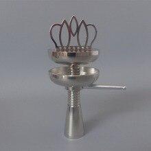 1 stück crown schüssel für shisha wasserpfeife, holzkohle halter