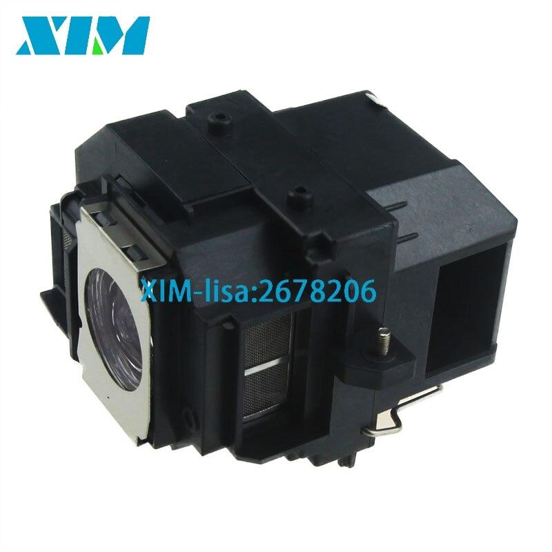 EB-S7 EB-S7 + EB-S72 EB-S8 EB-S82 EB-X7 EB-X72 EB-X8 EB-X8E EB-W7 D'origine pour EPSON lampe de projecteur avec boîtier ELPL54