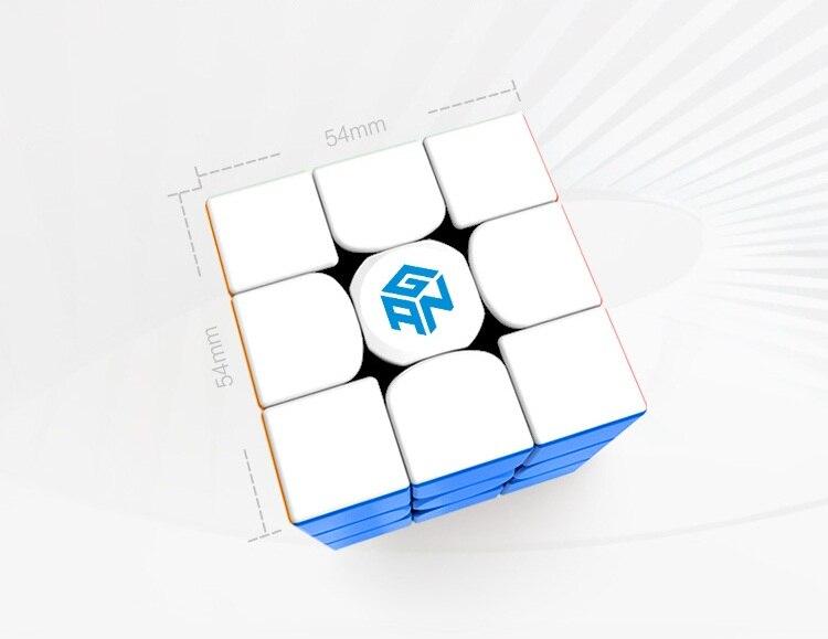 Date Original Gan354M 3x3x3 Cube magnétique Gans 3x3x3 Cube magique professionnel GAN 354 M 3x3 vitesse Cube Twist jouets éducatifs - 4