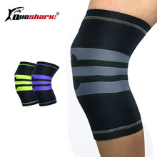96ac2f448a 1pcs Sport Knee Pads Basketball Leg warmers Soccer Shin Guard Weightlifting  Squat Patella Guard Knee Support Brace Protector