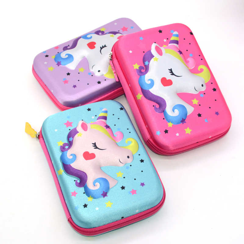 pencil case unicorn piornik Kawaii school supplies Big estuche escolar estojo escola pencilcase estuche pencil box material