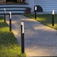 防水 LED 芝生ランプ 10 ワット COB ため柱状屋外ランドスケープガーデンランプパスライトヴィラ中庭の装飾 -