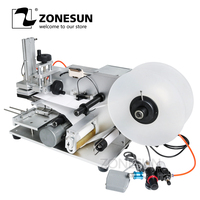 ZONEUN LT 60 Semi Automatic Labeling Machine Drugs Bottle Labeling Machine Medicine Bottle Labeling Machine