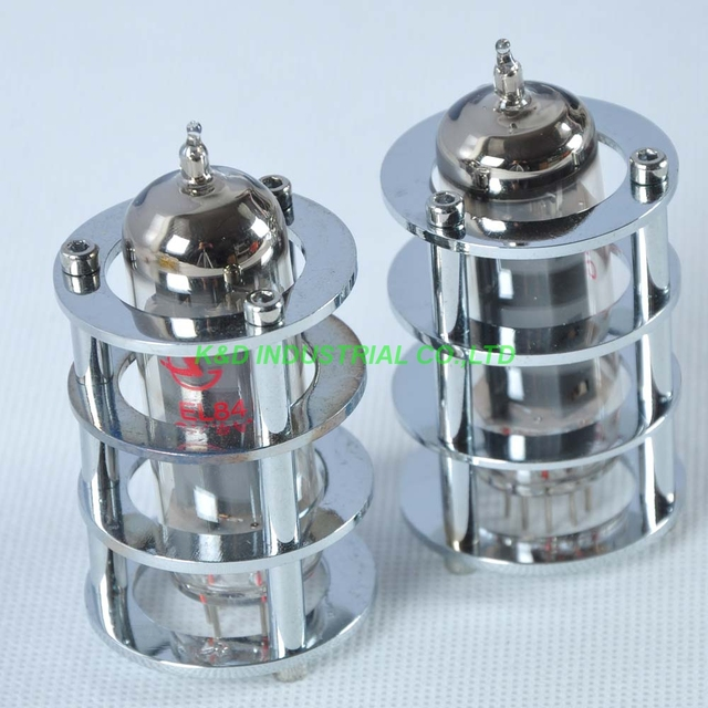 US $16 88 10% OFF|1pc Silver Tube Guard Protector Cover For EL84 6BQ5 6P14  Audio Amp for Tube Amplifier-in Electrical Plug from Consumer Electronics