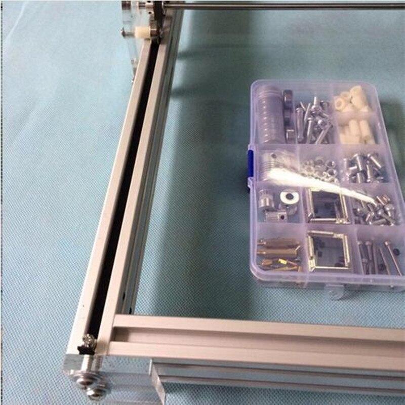 500 mw Laser Grawer IC Znakowanie Laserowe Grawerowanie Maszyny DIY Drukarki Laserowe Rzeźba Rozmiar Obszaru Roboczego 40X50 cm Maszyny tnącej