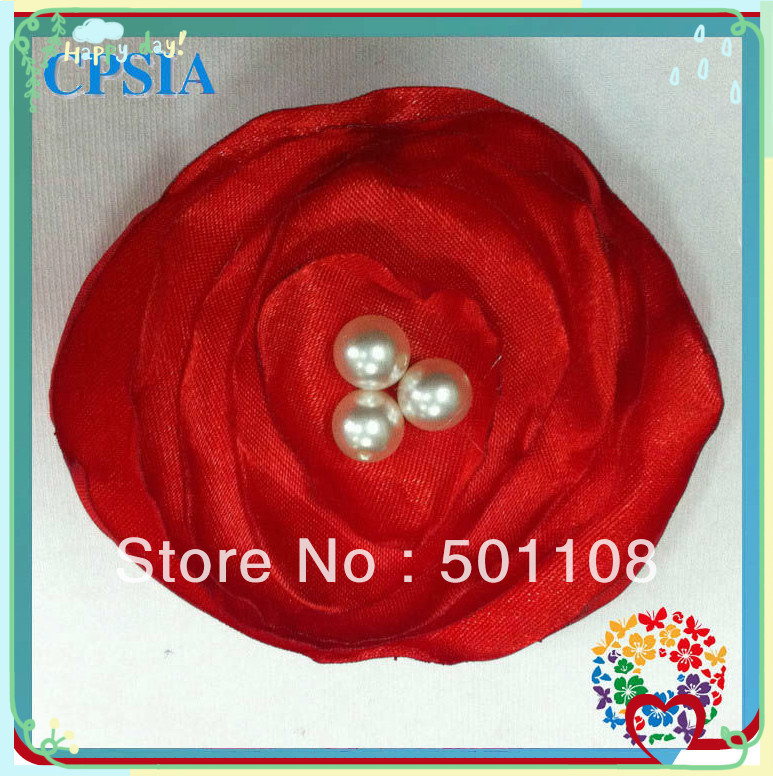 """Wholesale 2.4"""" new handmade hair flower with Lotus flowers bulk and fashion flowers for girls 200pcs/lot"""