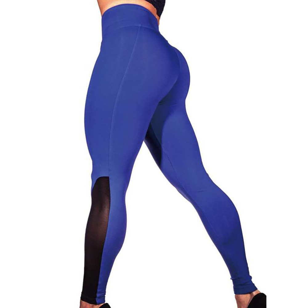 New Sexy Women Exercise Mesh Breathable Leggings 2018 Sportwear Fitness Leggings Ladies Gothic Spandex Legging Plus Size