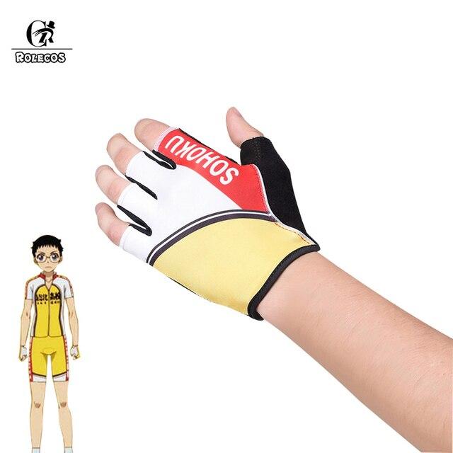 0735ffec3 ROLECOS Yowamushi Pedal Cosplay Gloves Yowamushi Pedal Anime Cosplay  Accessories Sports Gloves Cycling Hiking Climbing Running