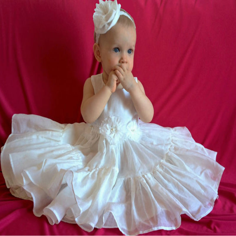 Long Christening Gown For Wedding Gowns Satin Baby Girl Clothes Suitable first communion dresses Ivory Baptism Dress white christening dress baby girl christening gowns vintage long lace gown baby christenin baptism girl princess dresses