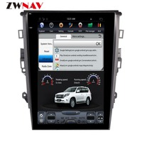 ZWNVA Tesla style Screen Android 6.0 64+2GB Car GPS Navigation DVD Player For Ford Mondeo MK5 2013 2014 2015 2016 2017
