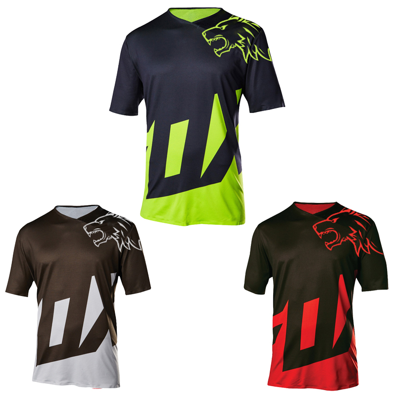 Clothing T-Shirt Moto Mountain-Bike Long New Dh Mtb Bmx Gp Men Roupa-Ciclismo Knitted
