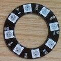 8 leds WS2812B RGB endereçável anel ; entrada DC5V ; RGB full color ; rodada LED pixel