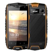 """AGM A7 4G LTE IP68 Étanche Téléphone portable 4.0 """"double Sim Android6.0 Quad Core 2 GB + 16 GB 8.0MP 2930 mAh Battey Soutien OTG Connexion"""