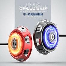 Moto Illuminazione Motociclo Del LED Lampada Spia Moto DC12V Luce Dello Sterzo Universale Lampeggiante 2 pz Parti Del Motociclo