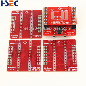 Image 4 - Adaptador de enchufe V3 TSOP48/40/32 Original, XGecu, TL866II Plus, MiniPro, TL866CS/A, Tl866, USB, programador Universal, 8 Uds.