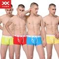 Men Underwear Solid Boxer Shorts Limited Top Fashion Underwear Cuecas 2016 The New Of Autumn Cotton Men's Pants Waist Boxers