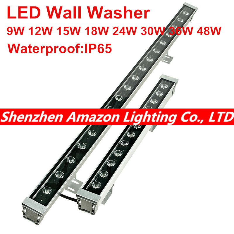 18W 24W 36W 48W waterproof outdoor led flood light LED Wall washer lamps Landscape light Blue/Green/Red/Warm/Cold/RGB 36w led wall washer lamp waterproof led floodlights outdoor bar lamp dc24v led lamps white red yellow blue green rgb