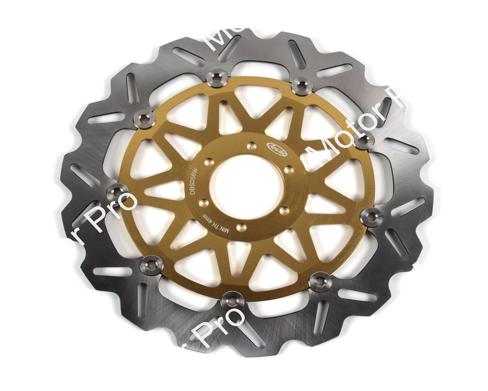 1 PCS Motorcycle Front Brake Disc FOR MOTO GUZZI BREVA 750 NEVADA 750 2003  2004 2005 2006 2007 aluminum alloy brake disk Rotor