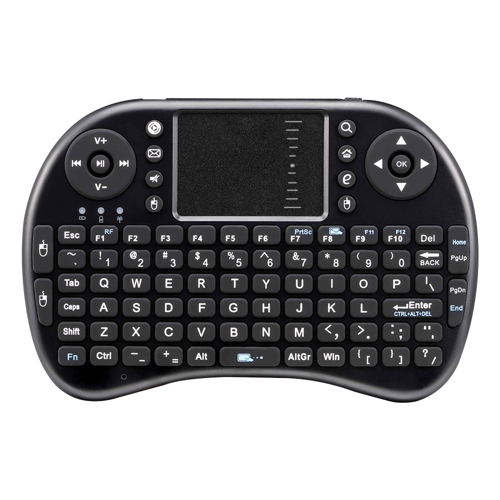 mini gamer gaming keyboard i8 English of i8 + 2.4GHz Wireless Keyboard Air Mouse Touch Panel Handheld for Android TV Box Mini PC