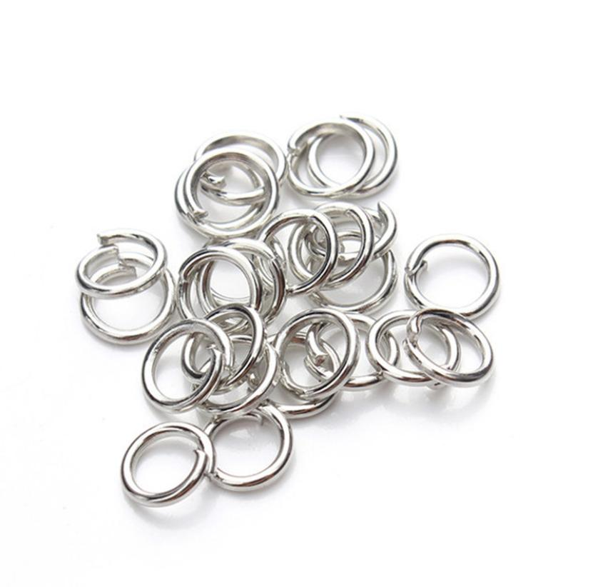 200 Jump Rings Silver Plated 3/4/5/6/7/8/10/12/14/16/20mm Jewellery Making Aug 4