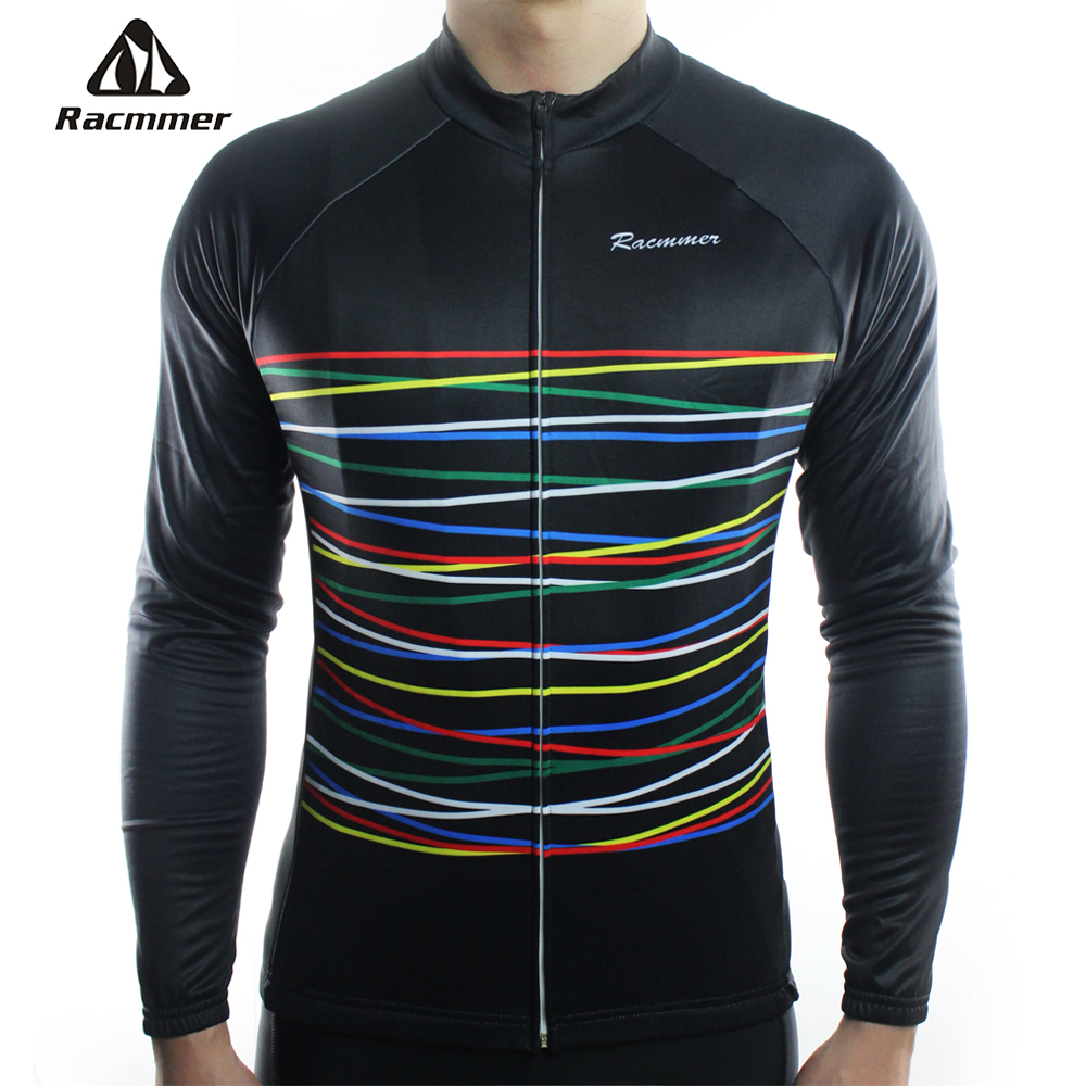 цена на Racmmer 2018 Cycling Jersey Long Sleeve Mtb Clothing Bike Wear Clothes Kit Bicycle Maillot Roupa Ropa De Ciclismo Hombre #CX-08
