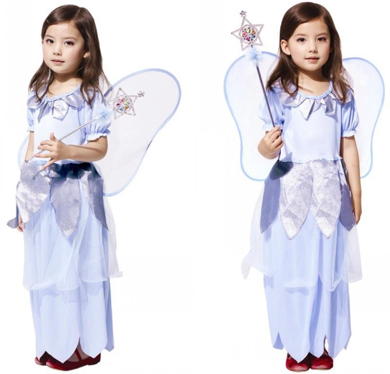 Halloween Children Disney Costume Cosplay Princess Dress Flower Girl Dress