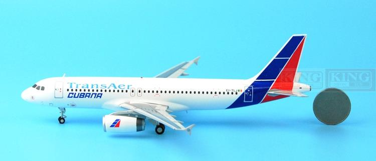 Offer: Wings XX2615 Special JC Cuba aviation EI-TLJ 1:200 A320 commercial jetliners plane model hobby special offer wings xx4232 jc korean air hl7630 1 400 b747 8i commercial jetliners plane model hobby