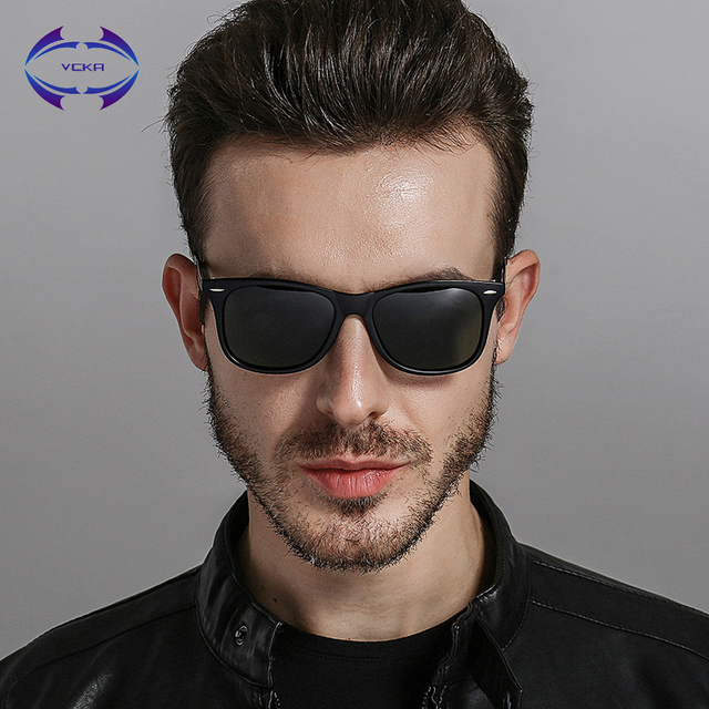 f58d6986e903 VCKA Polarized Mirror Lens Vintage Eyewear Brand Aluminium Unisex Retro  Sunglasses Driving Sun Glasses For Men Women Eyewear