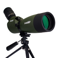 SVBONY SV29 BAK4 Spotting Scope 27mm Eyepiece 20 60x60 Waterproof Zoom FMC Monocular ArcheryBirdwatch Hunting Telescope RU F9309