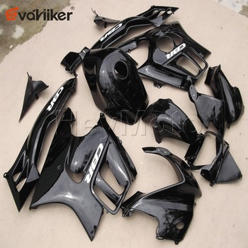 Custom motorcycle cowl for CBR600F3 1995-1996 ABS Plastic motorcycle fairing+5Gifts Injection mold black