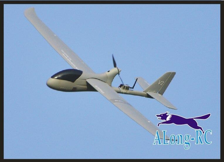 FPV Raptor 757-V2 757v2 2000mm Wingspan Long Range FPV Airplane pusher big weight carrier(have KIT SET and PNP SET) крылья велосипедные simpla raptor set
