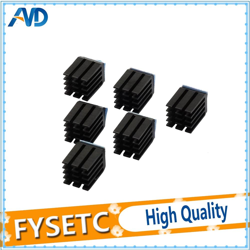 5pcs/lot StepStick Heat Sink Cooler Aluminum Heat Dissipation Suitable For DRV8825/A4988/TMC2100/TMC2208/TMC2130 Mendel5pcs/lot StepStick Heat Sink Cooler Aluminum Heat Dissipation Suitable For DRV8825/A4988/TMC2100/TMC2208/TMC2130 Mendel