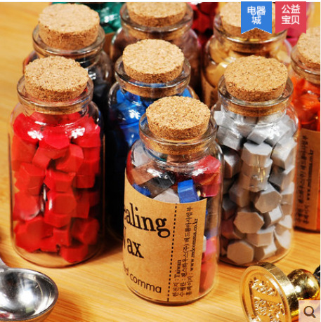 Hot Selling Wholesale Vintage Wax Grains Wax Stamp Bottled Hexagonal For DIY Scrapbooking/Card Making Fun Decoration Supplies