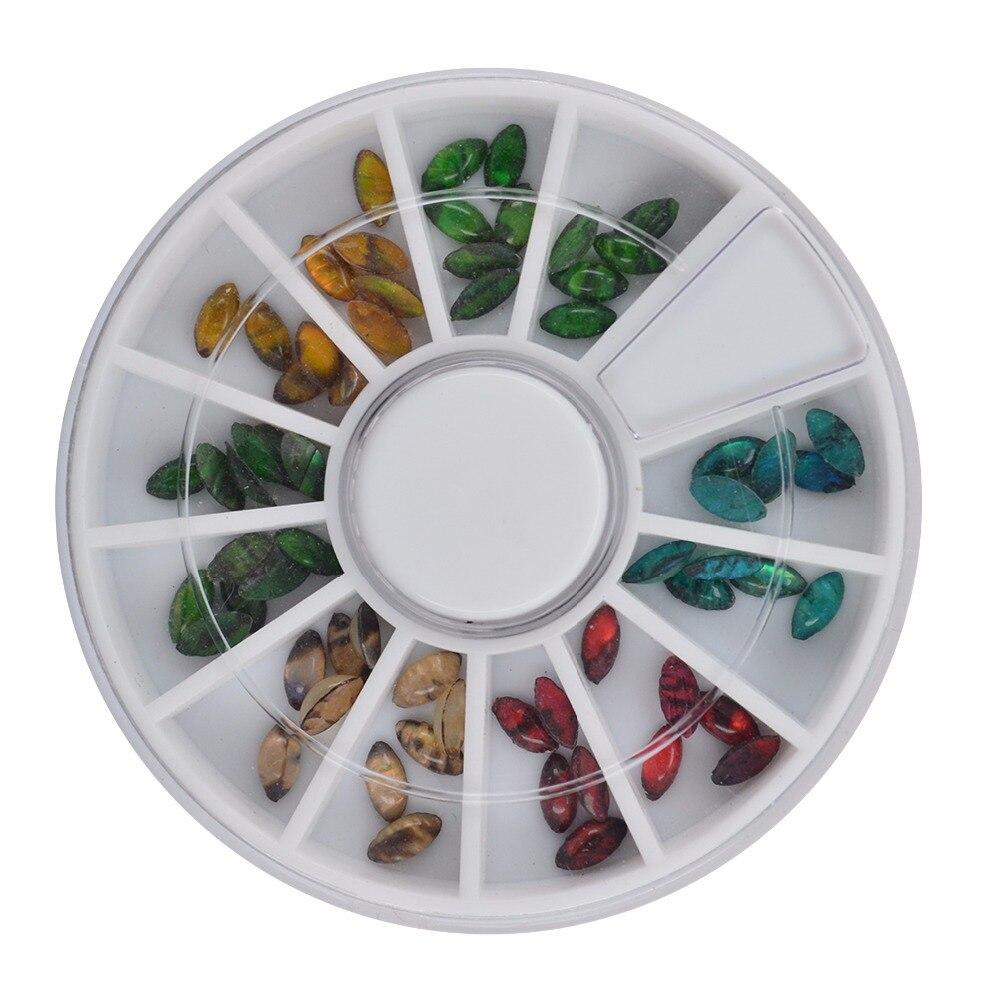 YZWLE 1 колеса ногтей Стразы и украшения для ногтей аксессуар модных украшений Красота инструменты# JS02