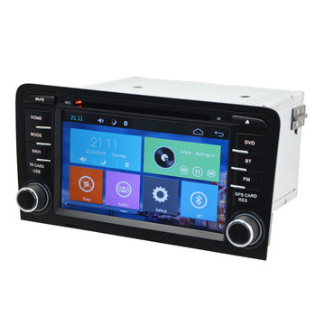 Capacitive Touch Screen Autoradio Car DVD Stereo GPS For Audi A3 2003-2012 Multimedia Player With Navigation Head Unit System image
