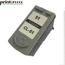 Einkshop 1pk color for canon CL 51 cl51 Pixma MP160 MP180 MP150 MP170 MX308 MX318 IP2200 mp460 mp450 printer ink