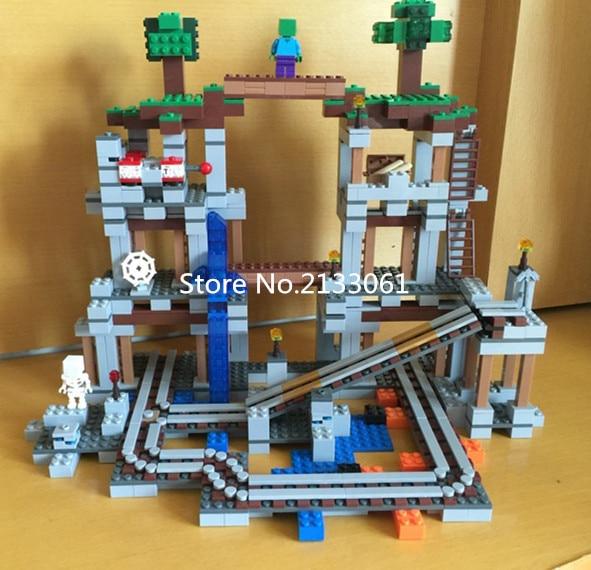New brinquedos mine block Myworld brick Pixel blocks MC minecrafted Figures Bricks Kids Toys Minifigures mc