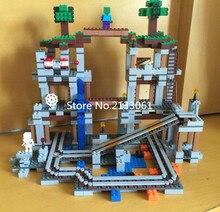 New brinquedos mine block Myworld brick Pixel blocks MC minecrafted Figures Bricks Kids Toys Minifigures mc Blocks legoed 21118
