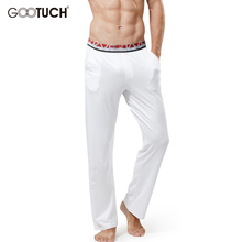 Mens Sleep Bottoms Pajama Sleepwear Plus Size Lounge Pants Men Pijamas Sheer Mens Pants Pyjama Trousers Pijama Masculino 5260