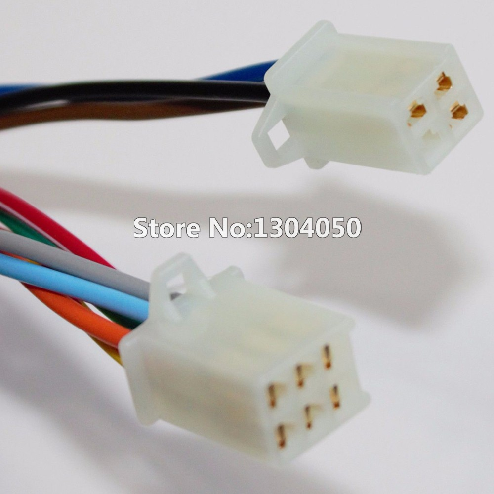 9 Pin Chinese Atv Mini Quad Left Side Control Switch 50cc 70cc 90cc Wiring Loom Harness Kill For 110cc 125 140 150 160cc Pit 5 Function Wire With Choke Lever Assembly