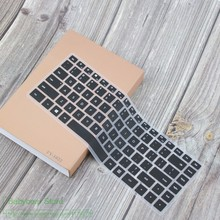 Untuk 14.1 Inci CHUWI Lapbook Air Laptop 2018 Silikon Keyboard Laptop Cover Mate Buku Pelindung Kulit(China)