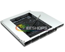 New Laptop 2nd HDD SSD Caddy Second Hard Disk Drive CD DVD Optical Bay for HP Compaq NC6400 NC6000 NC6320 NC6120 NC6220 Case