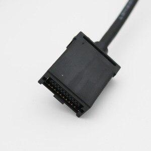 Image 5 - Kabel HDMI o dużej szybkości transmisji typ A męski na HDMI 1.4 typ E męskie wideo kabel Audio adapter do ładowania do samochodów samochodowych Multimedia 1080 P 5FT
