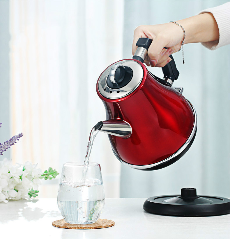 Electric kettle heating household automatic power cut small 304 stainless steel water mini long mouth electric heating kettle household mini 304 stainless steel boiled water automatic power off