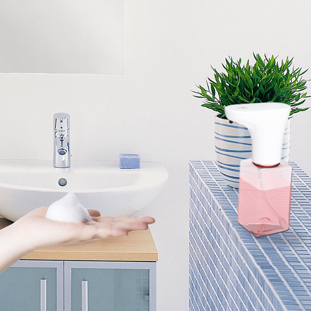 250ML/450ML Rechargeable Sensing Automatic Soap Dispenser Pump Waterproof Liquid Soap Dispensador Shampoo Dispenser Bathroom