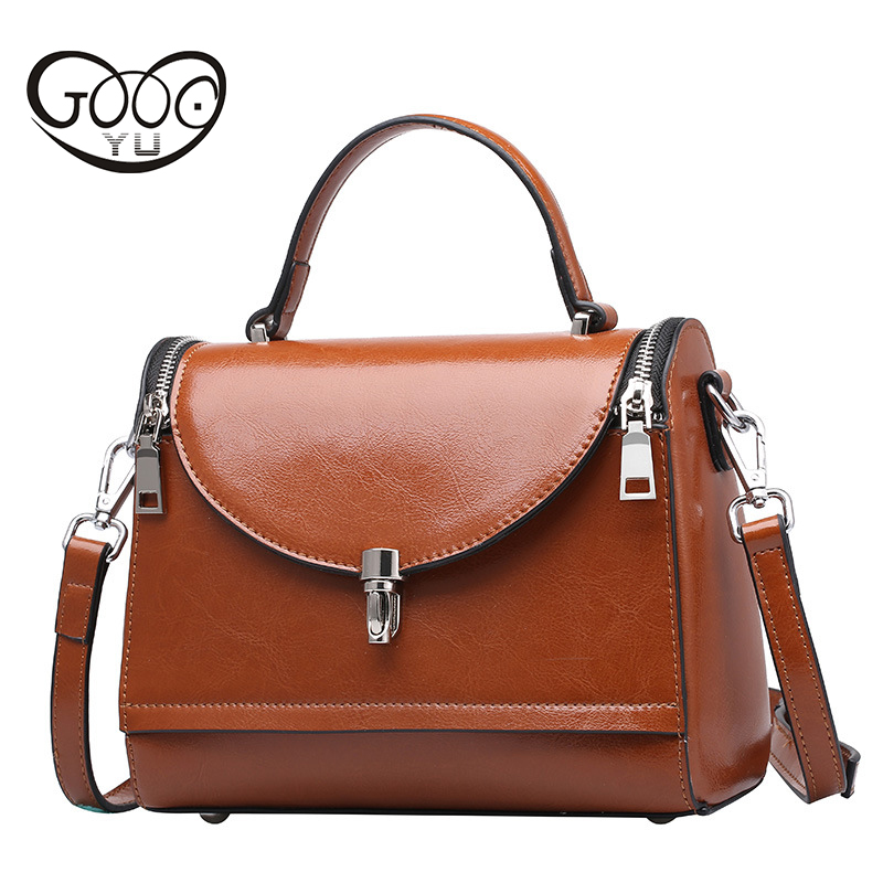 Women Genuine Leather Handbags Shoulder Bags Luxury Women Messenger Bag Famous Brands Female Tote Women Handbag Bolsa Women Bag