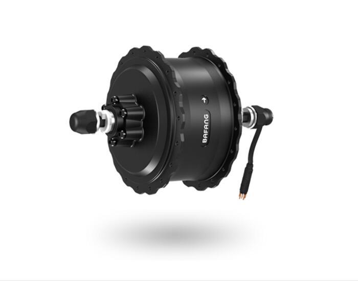 8FUN BAFANG 48V 750W Brushless Geared DC Cassette Fat Tire High Speed Hub Rear Motor For Electric Bike Dropout Width 175mm 190mm